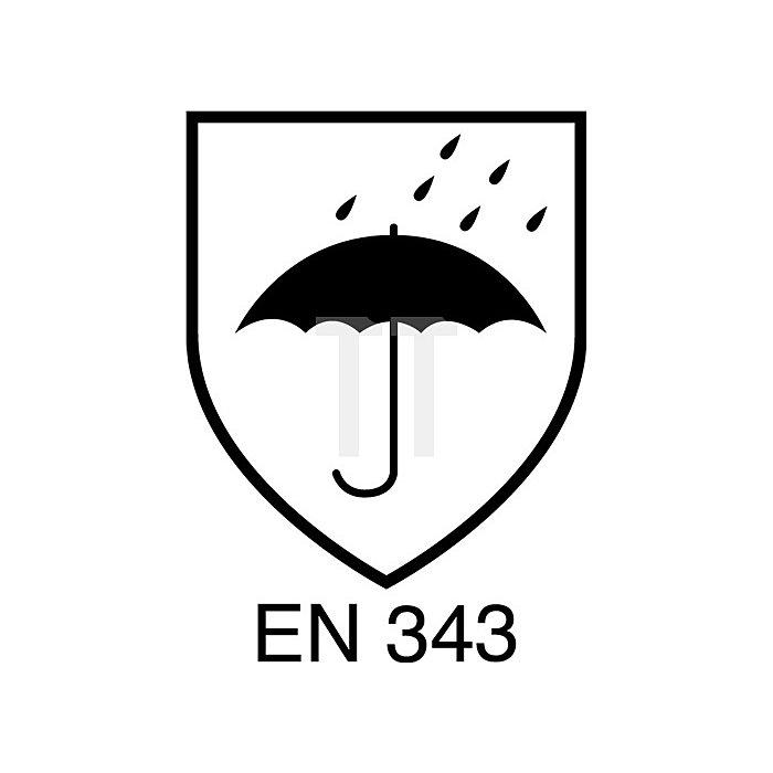 Regenjacke Gr.L, gelb EN471 Kl.2 / EN343