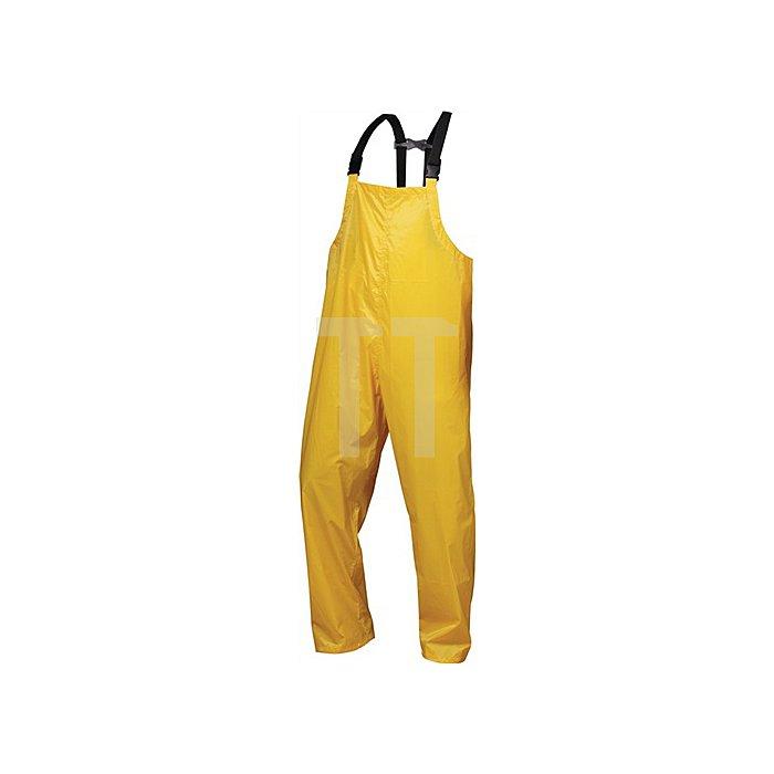 Regenlatzhose Ribe Gr.XL Gelb 100% Nylon