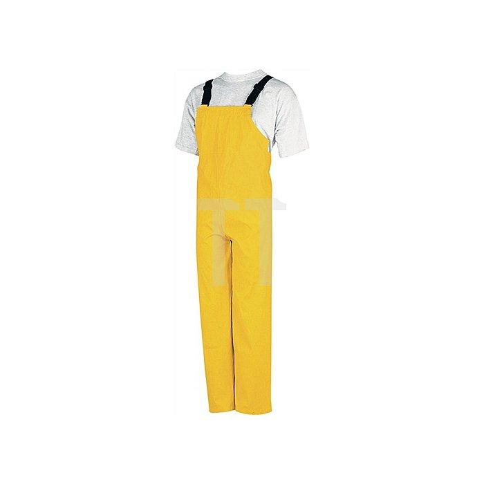 Regenschutzlatzhose PU-Strech Gr.M gelb