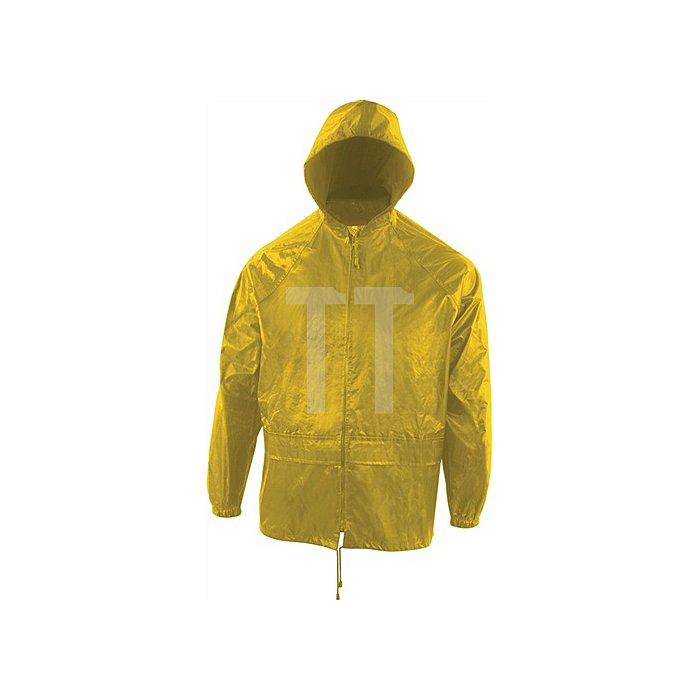 Regenset gelb, Gr.XL100% Polyester, Jacke/Bundhose