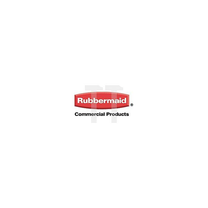Reinigungswagen 2Eimer 18l m.Ausguss u.Mopp-Presse Eimer rot/blau