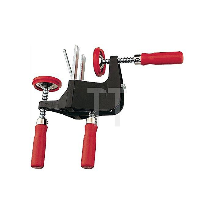 Richtzwinge für Türfutter Spann-W.max.70mm Verstellweg 35mm