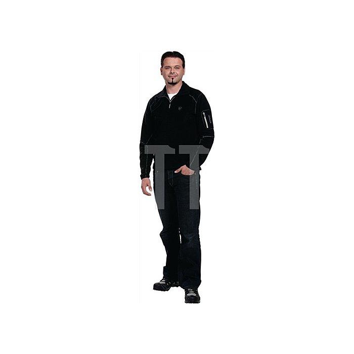 Rico Fleece Ski Rolli Gr.XXL schwarz/grau