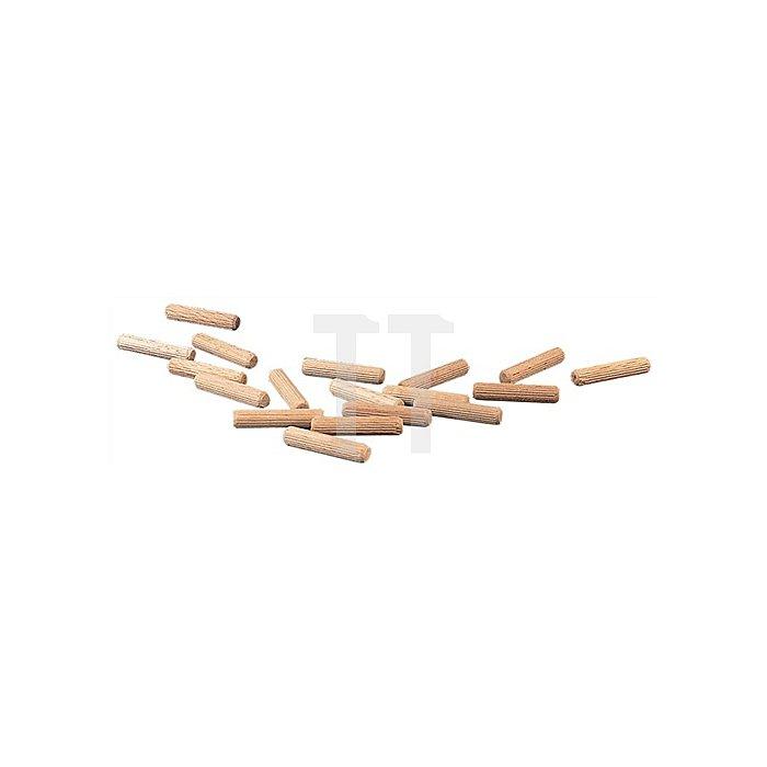 Riffeldübel Durchmesser 8mm Länge 40mm Buche Sack a 10kg