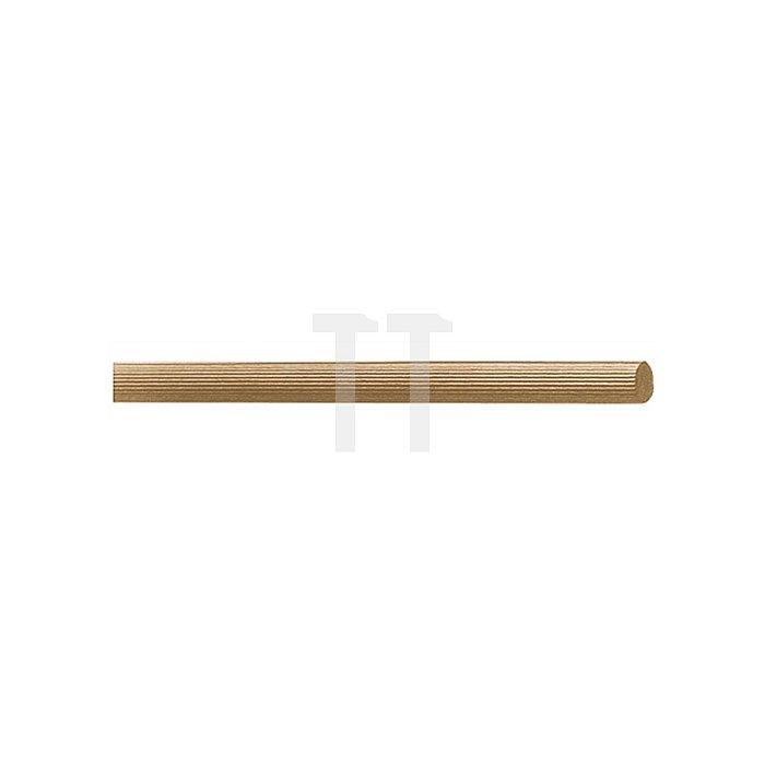 Riffelstäbe Durchmesser 10mm Länge 1m Buche