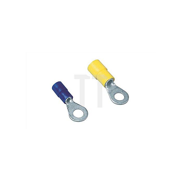 Ringkabelschuh M4 blau 1,5-2,5mm2 100St./Btl.