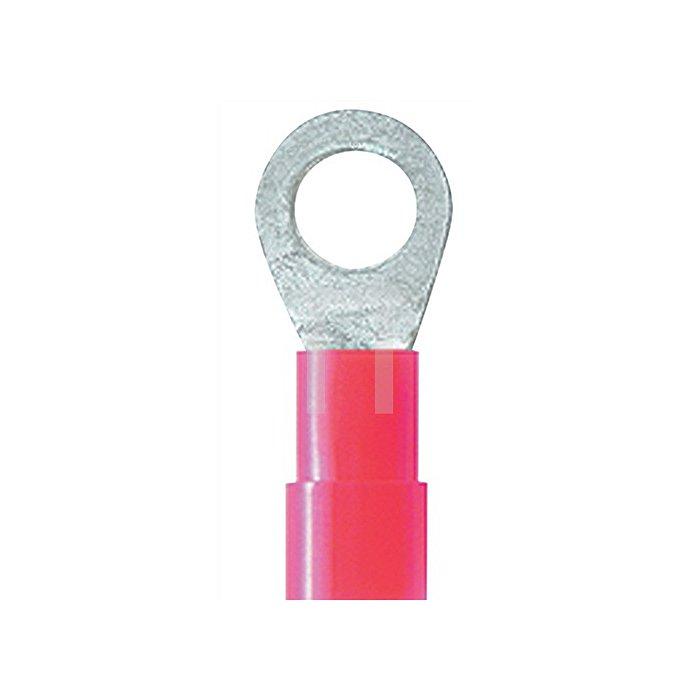 Ringkabelverbinder rot 0,5-1,5mm2 M4 WEIDMÜLLER 100St./Btl.