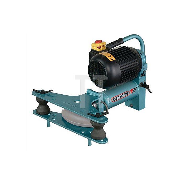 Rohrbiegegerät f.Gas-u.Wasserrohre 3/8-2Zoll el.-hydr.230V 100kN aufklappbar