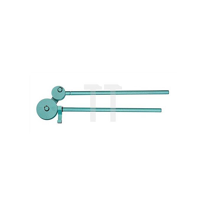 Rohrbiegezange f.Rohre 4,75-5mm chemisch vernickelt r=18mm bis 180Grad