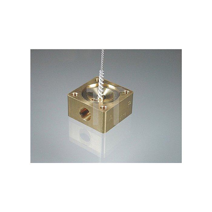 Rohrbürste Mikroabrasiv 16x25x125mm K.600 OSBORN Nylon-Alu.-Oxyd