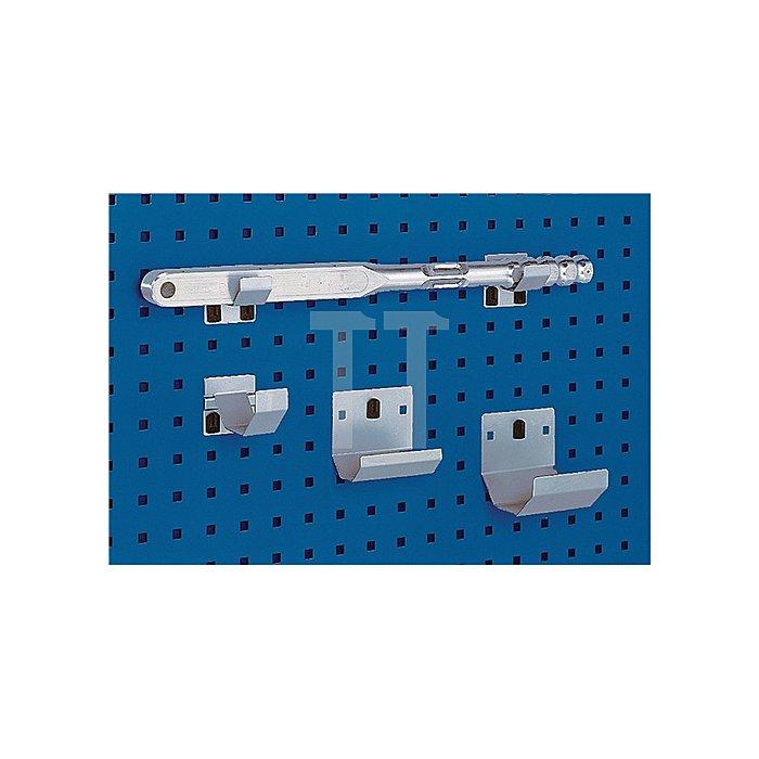 Rohrhalter D.100xB.60mm verz. f.Lochplatten 2St./VE Bott