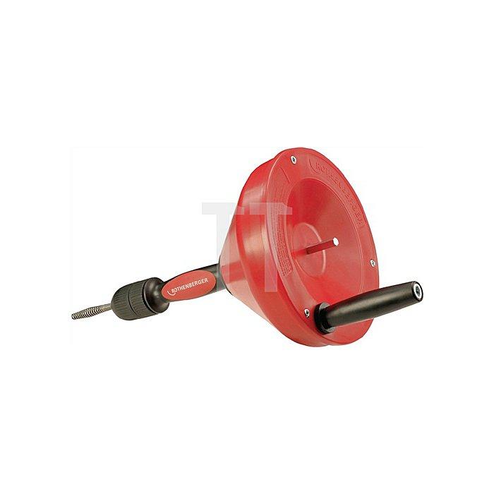 Rohrreinigungsgerät Hand und Elektrobetrieb Spirale 8mm/7,5 Meter