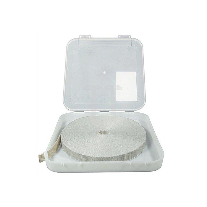 Rolladengurtbox ilira-roll Topp-Box Set für Gurtbreite 14mm beige-grau