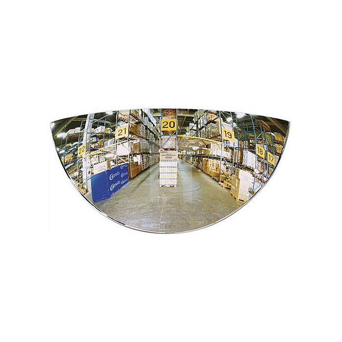 Rückspiegel f.hinten Entf.max.1m B.258xT.39xH.128mm f.Gabelstapler