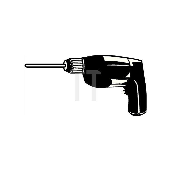 Rundbürste 75mm 6mm Schaft VA 0,30mm Arbeitsbereich B.10mm