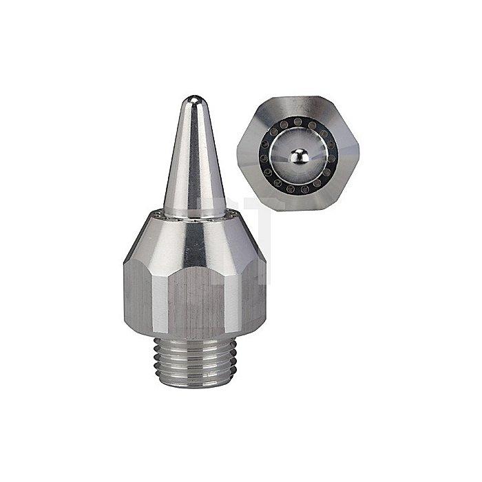 Runddüse lärmarm, Aluminium M 12 x 1,25 Länge 41,0 mm