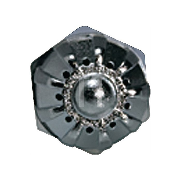 Runddüse lärmarm, Zink-Druckguss M 12 x 1,25 Länge 46,0 mm