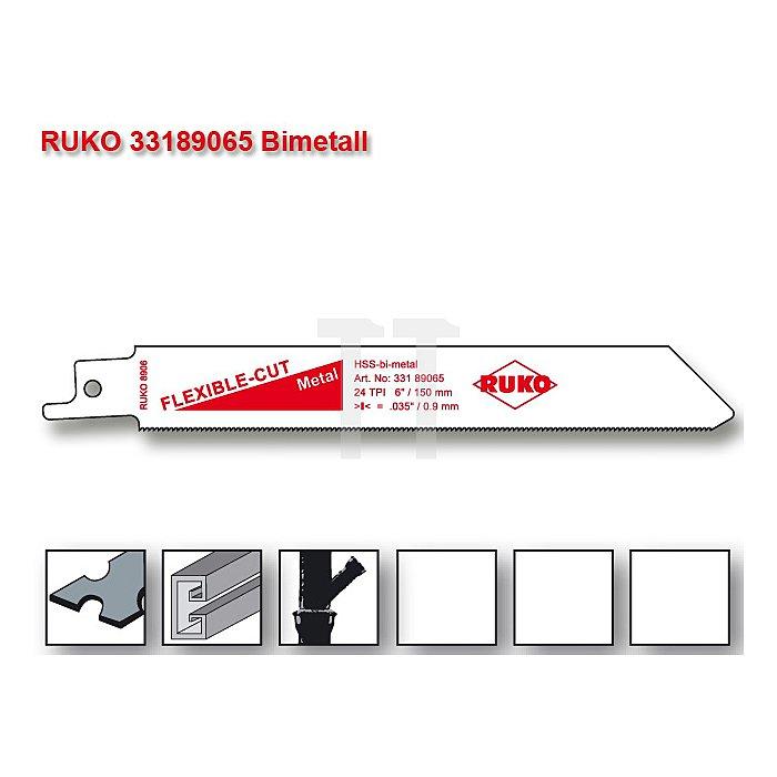 Säbelsägeblätter 8906 HSS-Bimetall