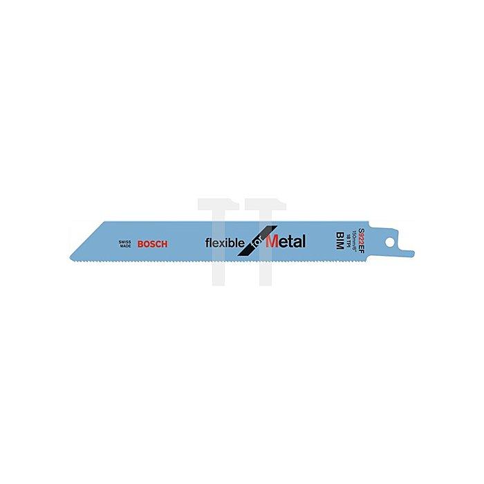 Säbelsägeblatt L.150mm Bi Zahnt.1,8mm f.schnellen SchnittBOSCH gefräst