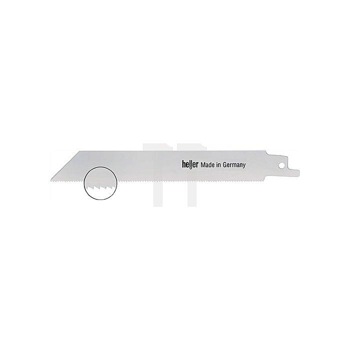 Säbelsägeblatt verzahnte L.130,0mm18 Zähne/Zoll NE-Metalle Bi-M.Karte mit 5Stück
