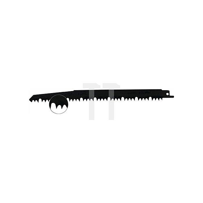 Säbelsägeblatt verzahnte L.220,0mm 4-5 Zähne/Zoll geschr. Karte mit 5 Stück
