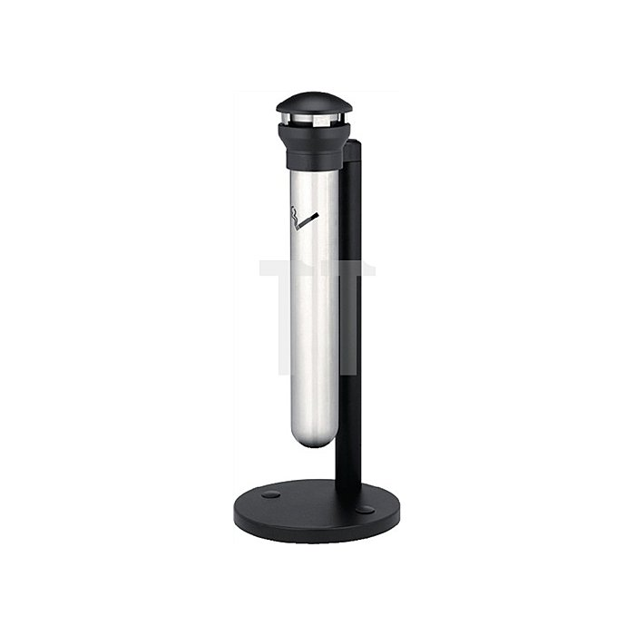 Säulenstandascher VA H.1000xD.394mm wetterfest