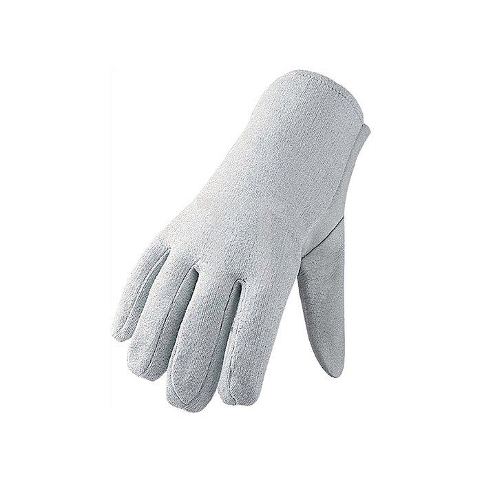 Schafsnappa-Handschuhe Gr. 10 mit Schichteln naturfarben