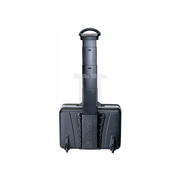 Schalenkoffer X-ABS 460x165x310mm m.Alu.-Rahmen PARAT schwarz