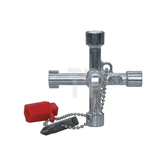 Schaltschrankschlüssel 6 u.8mm 4KT 9mm 3-KT 3-5mm Bundbart