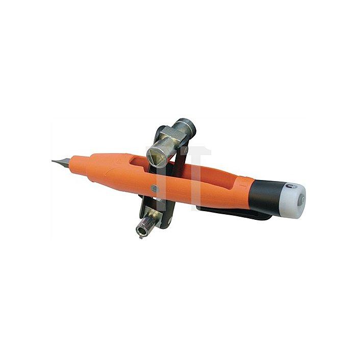 Schaltschrankschlüssel/Spannungsprüfer/Magnetfeldtester/Bit-Aufnahme m.Hemdclip