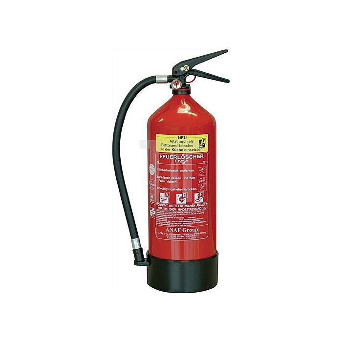 Schaumlöscher FLS 3460 6l für A/B/F rot