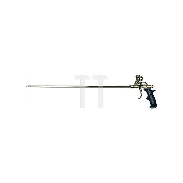 Schaumpistole XL L.60cm grau/silber