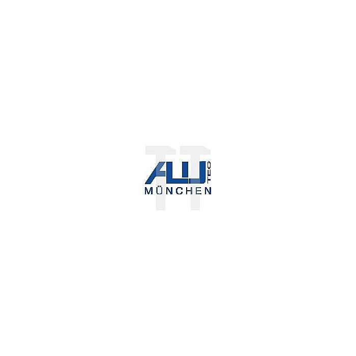 Schaumstoffeinsatz f. Aluminiumbox 91l, 1 Bodenplatte, 5 Würfelschaumplatten