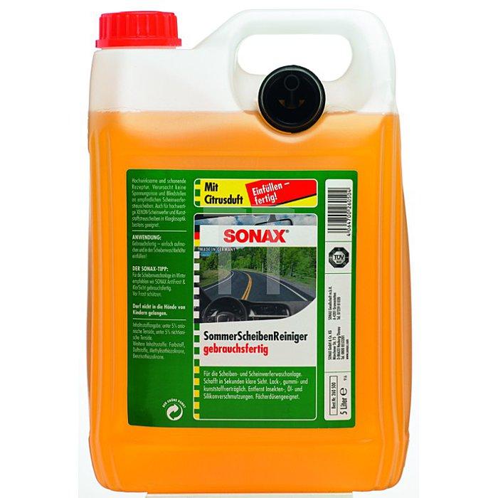 Scheiben Reiniger gebrauchsfertig Citrus 5 Liter