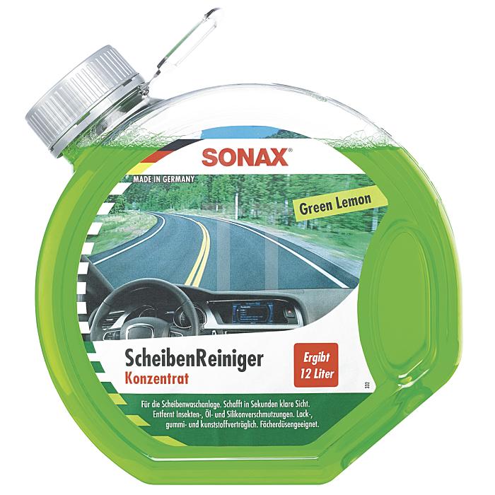ScheibenReiniger Konzentrat Green Lemon Reinigung Auto Fenster 3 Liter