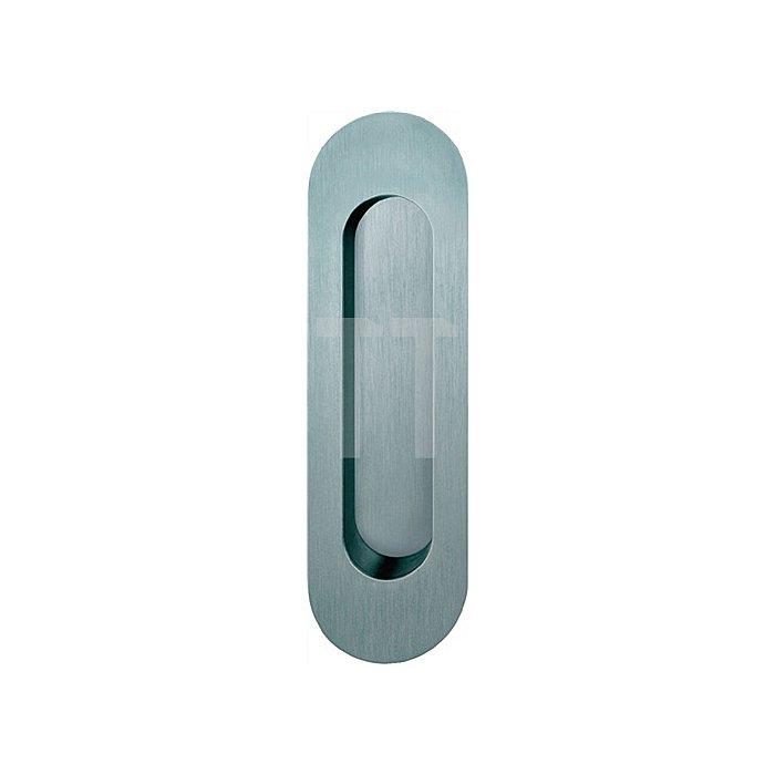 Schiebetürmuschel 4250 blind Aluminium F1