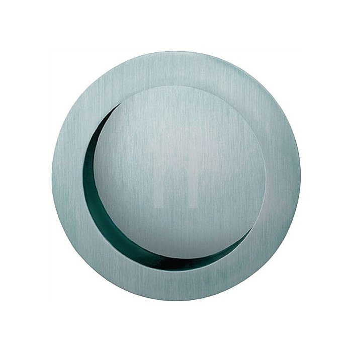 Schiebetürmuschel 4252 blind Aluminium F1