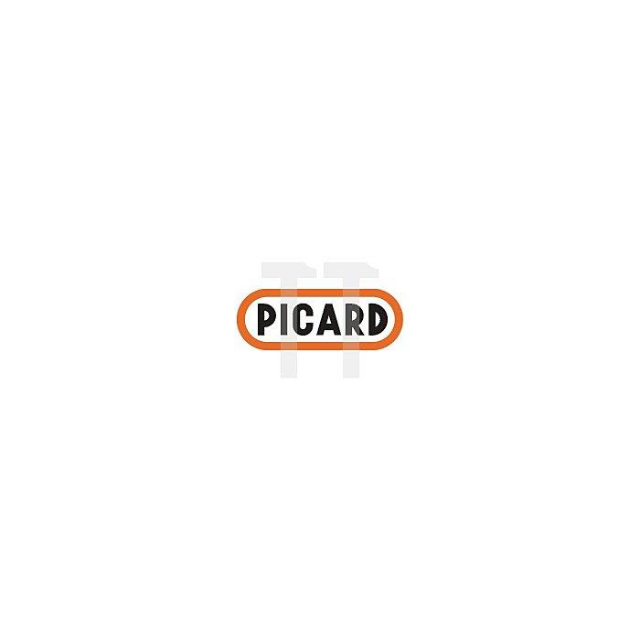 Schieferhammer XL 700 g geschmiedet m.Ledergriff für Rechtshänder Picard