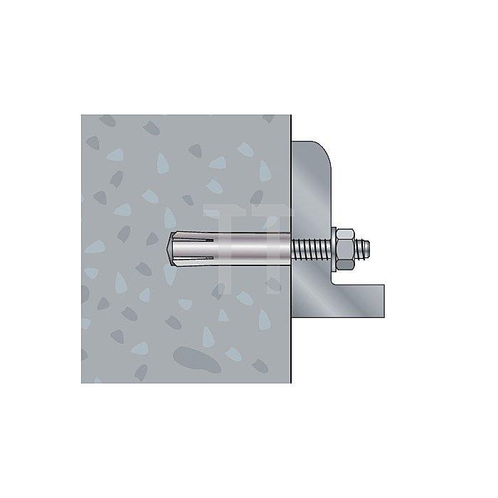 Schlaganker SA-N 12 nicht rostender Stahl A4