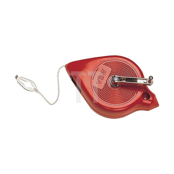 Schlagschnurroller rot lackiert 125mm