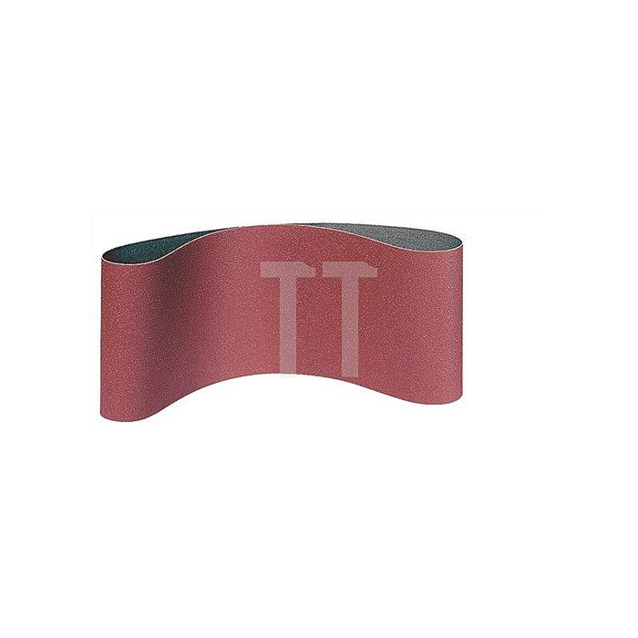 Schleifband endlos K.100 B.75xL.480mm f.Metall/Holz KLINGSPOR dicht gestreut