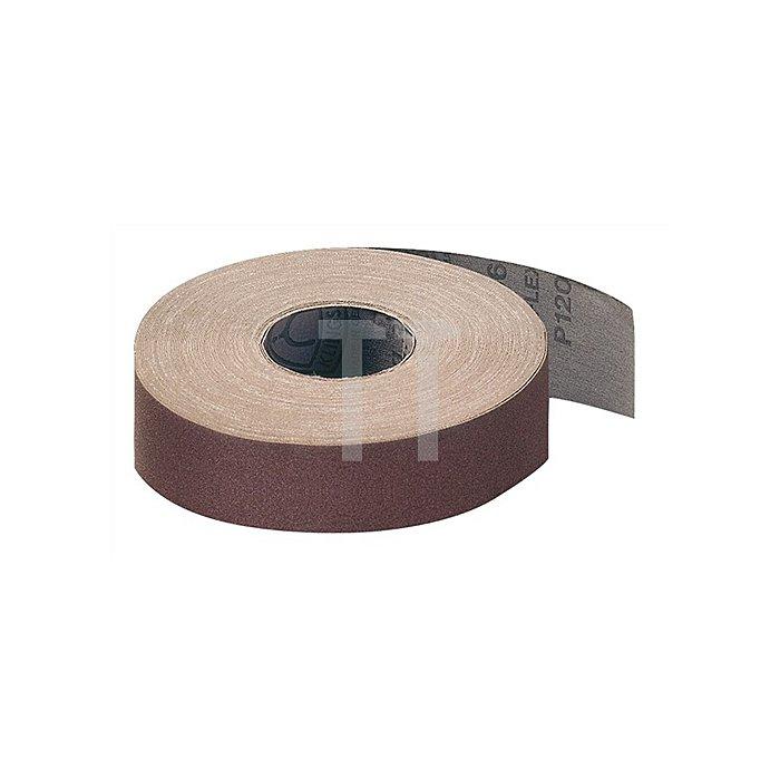 Schleifgewebesparrolle L.50m/B.115mm K.120 KLINGSPOR mittel