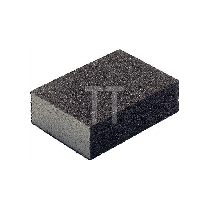 Schleifklotz SK 500 B.100xT.70xH.25mm K.100 flexibel 4-seitig bestreut