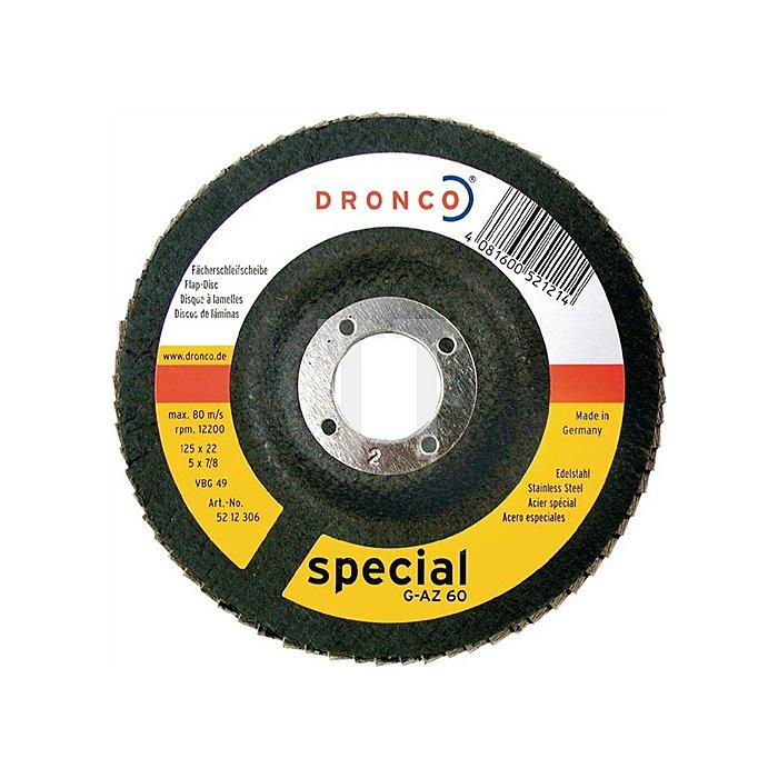 Schleifscheibe G-AZ 40 125x22cm SPECIAL