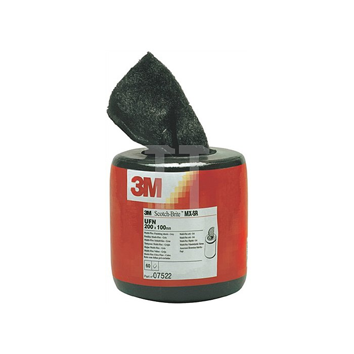 Schleifvlies B.203xL.102mm ultra fine MX-SR 3M 6m/RL