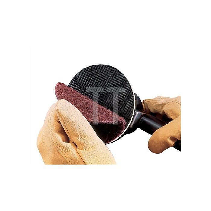 Schleifvliesscheibe K.mittel D.125mm Klett f. Reinigung/Finisharbeiten