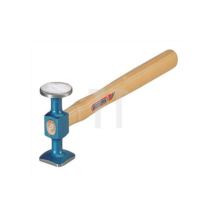 Schlichthammer 300mm blau lackiert 40mm u.35mm Vergütungsstahl nach DIN/EN10083