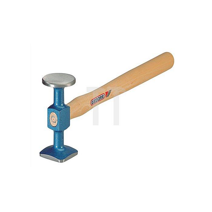 Schlichthammer 320mm blau lackiert 46mm u.40mm Vergütungsstahl nach DIN/EN10083