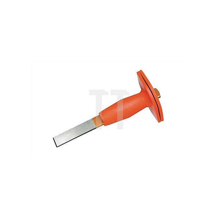 Schlitzmeißel 240mm flach m.Handschutz