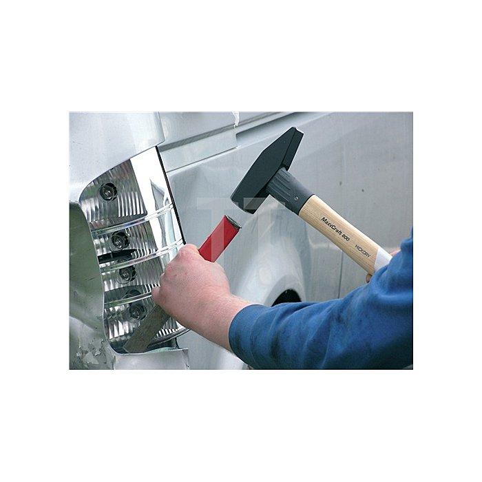 Schlosserhammer 1000g Maxx-Craft Hickorystiel HALDER rückschlagarm